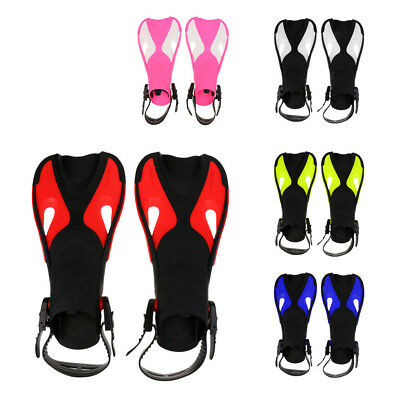 Kids Scuba Diving Fins Snorkel Swimming Training Flippers Water Sports Equipment