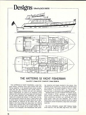 1978 Hatteras 53' Yacht Fisherman Review & Specs