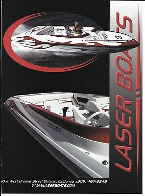 2005 Laser Boats Color Ad- Nice Photo- Hot Girl