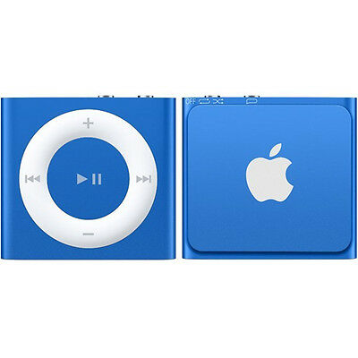New Genuine Apple iPod Shuffle 2GB - Blue (MKME2BT/A)