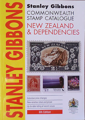 STANLEY GIBBONS 2016 NEW ZEALAND & DEP. STAMP CATALOGUE 6th Edition **COLOUR*