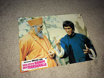 GAME OF DEATH 2 Lobby Card Movie Poster 1981 Bruce Lee Kung Fu Martial Arts G24