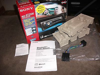 Sony MEX BT2500 wiring harness/adaptor,14/16 pin,stereo,CD,bluetooth,box etc...