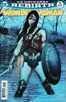 Wonder Woman #14 Jenny Frison Variant Cover Rebirth New 1 2017 Year One Rucka