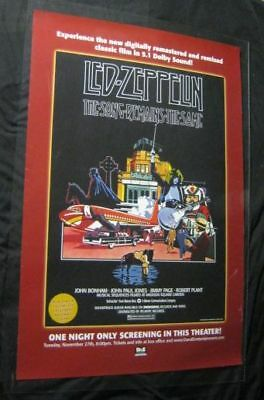 Orig LED ZEPPELIN SONG REMAINS THE SAME Rare 07 Advance