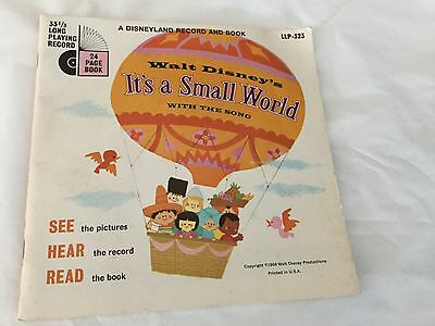 Disneyland Record and Book - Disney's It's a Small World #323