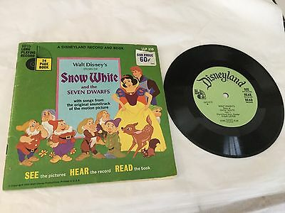 Disneyland Record and Book - Disney's Story of Snow White and the Seven Dwarfs
