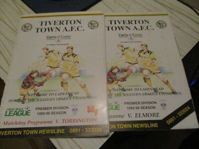 2  Tiverton  Town  1995-6  //  Torrington / Elmore /