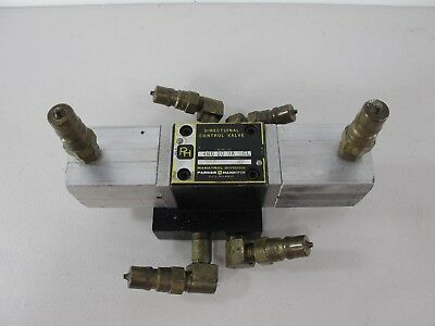 Parker Hannifin 4MD 20 VA CL Directional Control Hydraulic Valve