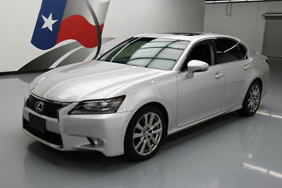 2014 Lexus GS Base Sedan 4-Door 2014 LEXUS GS350 PREMIUM SUNROOF NAV REAR CAM 40K MILES #039727 Texas Direct