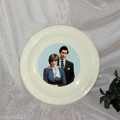 Prince Charles Diana Royal Wedding Collector Plate Marriage British Royalty
