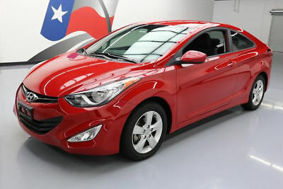 2013 Hyundai Elantra  2013 HYUNDAI ELANTRA GS COUPE HEATED SEATS ALLOYS 33K #011389 Texas Direct Auto