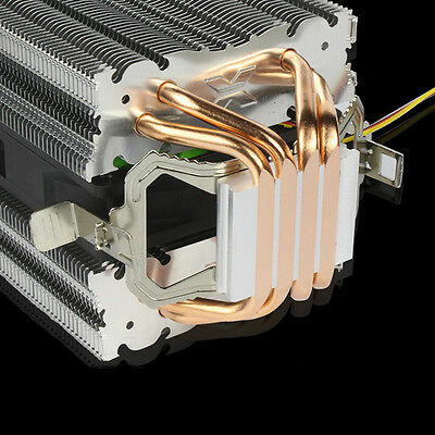 4 Heatpipe Computer CPU Cooler Heat Sink For Intel LGA 1150/1151/1155/775 AMD US