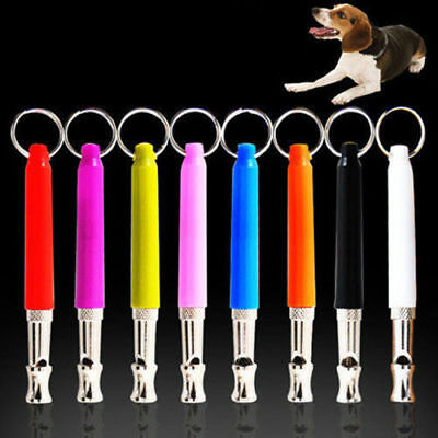 Pet Dog Training Obedience Whistle UltraSonic Supersonic Sound Pitch Quiet GIFT