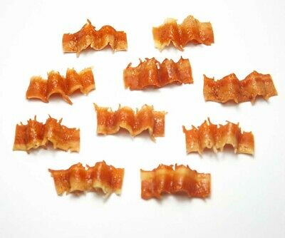 Set of 10 Dollhouse Miniature Bacon * Doll Mini Tiny Food Breakfast Meat Kitchen