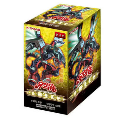 "Yugioh Cards ""Circuit Break"" Booster Box (40 pack) / Korean Ver"
