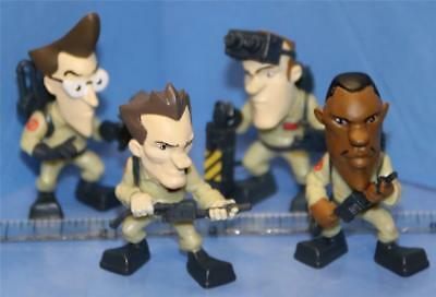 Ghostbusters WAVE 1 Micro Figures - SET OF 4 Ghostbusters PETER EGON RAY WINSTON