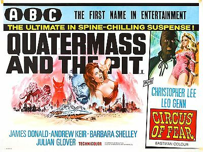 Quatermass And The Pit  Laminated   Mini   Movie Poster Print Hammer