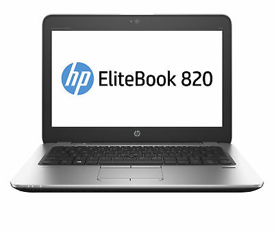 "HP EliteBook 820 G3 12.5"" Business Laptop Intel Core i5-6200U, 4GB RAM 500GB HDD"