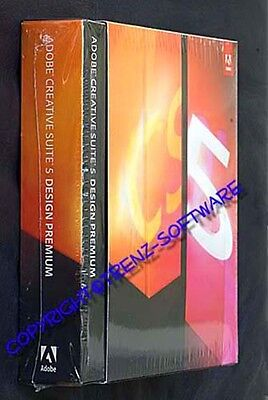 Adobe Creative Suite 5 Design Premium englisch Windows Box - MwSt. Photoshop CS5