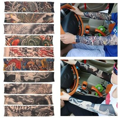 Cycling Bike Bicycle Arm Warmers Cuff Sleeve Cover UV Sun Protection Outdoor