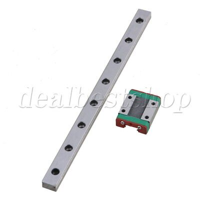 Bearing Steel 20cm MGN12 Guide Linear Sliding Rail and Block Set