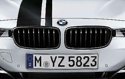 BMW M Performance Genuine Front Pair of Kidney Grilles Black F32/F33/F36 5171233