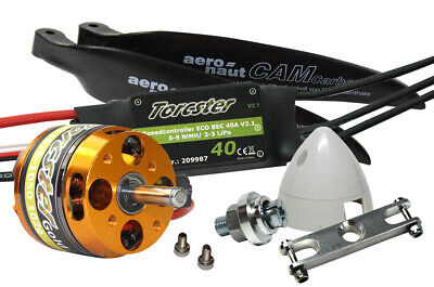 Torcster Antriebsset EasyGlider 4/PRO Tuning 3s Multiplex MPX Brushless