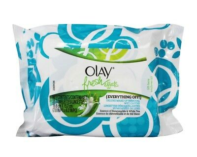 2 X Olay Pk25 Fresh Effects Deluxe Make Up Removal Wet Cloths - All New