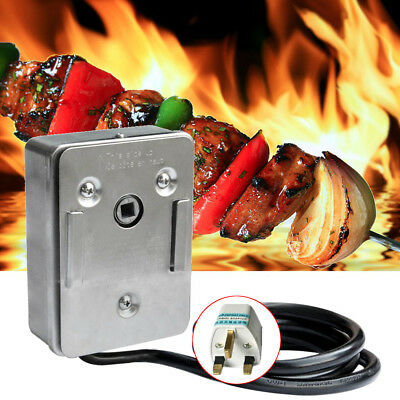 Universal Grill Electric Replacement Stainless Steel Rotisserie Motor