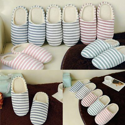 Men Women House Indoor Floor Slippers Home Winter Warm Shoes Sandals Anti-Slip