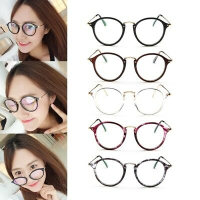 Women Men Clear Transparent Optical Glasses Frame Eyeglasses With Clear Glass