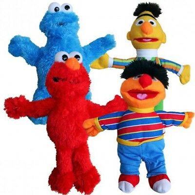 Sesame Street - Selection Plush Soft Toy Character 21 - 25 cm
