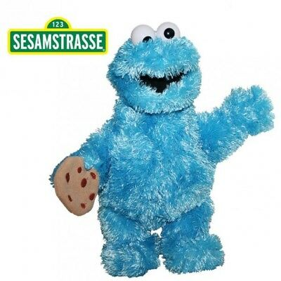 Sesame Street - Plush Soft Toy Character Cookie Monster 37 cm