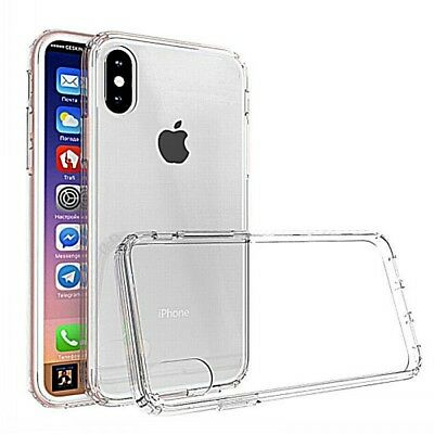 Hybrid Durable Slim Shockproof Soft TPU Case Cover For Apple iPhone (X) DE