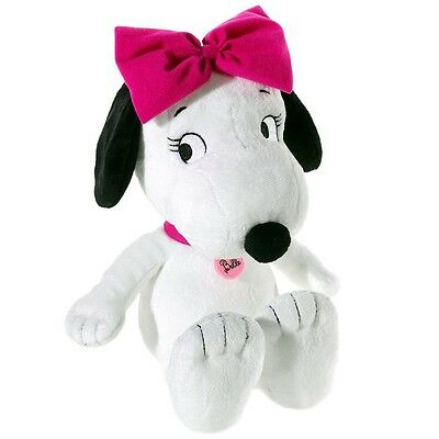 The Peanuts - Snoopy's sister Belle plush stuffed figure, 30 cm
