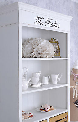 Book Shelf Shabby Chic Shelf White Antique Look drawers kitchen shelf cupboard