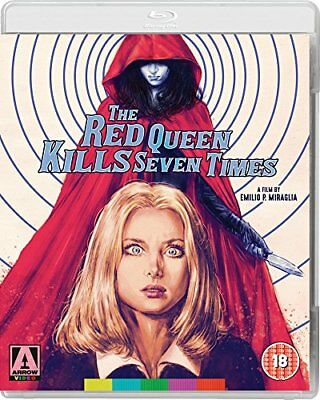 Blu-Ray The Red Queen Kills Seven Times ( Arrow ) New Sealed Uk Stock