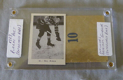 1929 Roger Peet Bill Burch NY Americans HHOF Hockey Card # 42 + Wrapper Envelope