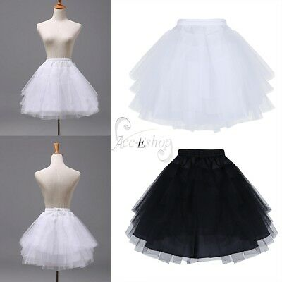 A-Line Tutu Children Petticoat Flower Girl Dress Underskirt Slips Kids Crinoline