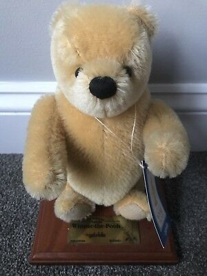 """Gabrielle 9"""" Mohair Jointed Pooh Bear 70 Yrs No Res Buy Now"""