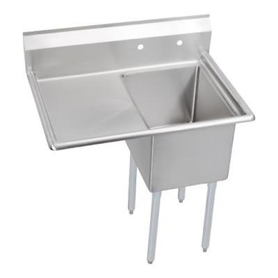 Elkay - 1C24X24-L-24X - 50 1/2 in One Compartment Sink w/ Left Drainboard