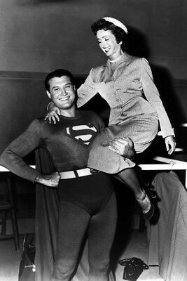 Adventures of Superman George Reeves 24x36 Poster Print