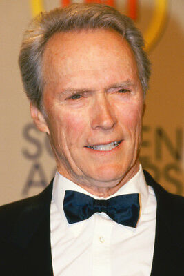 Clint Eastwood Color In Tuxedo 24X36 Poster Print