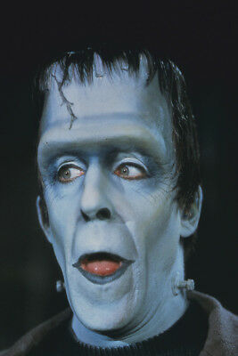 The Munsters Fred Gwynne Close Up Color Portrait As Herman 24X36 Poster