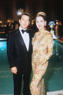 Casino Robert De Niro Sharon Stone Posing By Pool 24X36 Poster