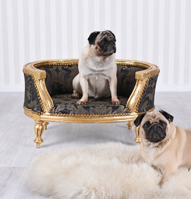 Cat Bed Baroque Dog Bed Cats Sofa Sleeping Area Nostalgia Bed Cat Dog