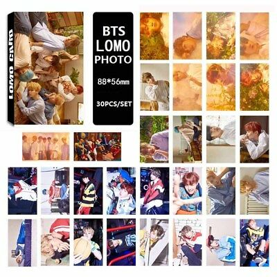 2017 Kpop BTS LOVE YOURSELF LOMO Box Small Card Sticker 30PCS Popular