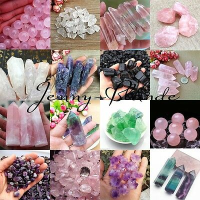 Natural Quartz Crystal Stone Rock Gravels Healing Minerals Fish Tank Decoration