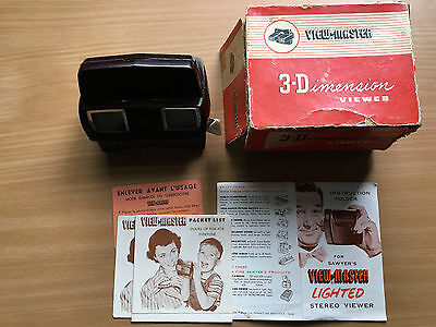 VIEW MASTER  3-Dimensional Viewer in box